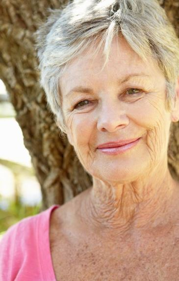 Aging Female Face