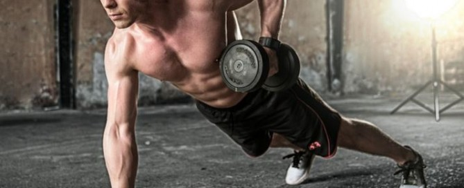 Man Reaping The HGH Benefits On Muscle Mass